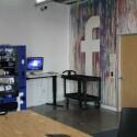 Die Wände können beliebig für das Aufschreiben und Weiterentwickeln von kreativen Einfällen und Konzepten genutzt werden.