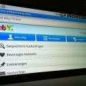 Zusätzliche Apps können über den Dienst SlideMe nachinstalliert werden oder per apk-Datei aus dem Web per USB oder SD-Karte aufgespielt werden. So gelangt etwa die Ebay-App auf das Gerät. (Bild: netzwelt)