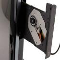 Im Testgerät befindet sich ein Blu-ray-Laufwerk.
