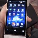 Das Xperia S bietet ein 4,3 Zoll großes Display. (Bild: netzwelt)