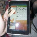 Wie beim Galaxy Note kann der Nutzer auf dem Galaxy Tab 7.0 Plus N zeichnen. (Bild: netzwelt)
