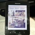 Da Mirasol-Bildschirme Farbe darstellen, eignen sie sich auch zum Ansehen von Magazinen oder Videos. (Bild: netzwelt)