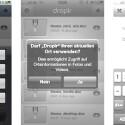 Sehr praktisch ist die Funktion, das zuletzt geschossene Foto mit einem Klick auf Droplr bereitzustellen. (Bild: netzwelt)