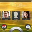 Vom Sperrbildschirm sind nun auch Kontakte direkt zugänglich. (Bild: HTC Hub)