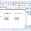 TextMaker beinhaltet zahlreiche nützliche Vorlagen, zum Beispiel für Briefe. (Bild: Screenshot)