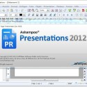 Ashampoo Presentations 2012 wurde dafür entwickelt, Präsentationen zu erstellen. (Bild: Screenshot)
