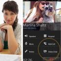 Die Frontkamera von BlackBerrys kann für Video-Chats eingesetzt werden. (Bild: CrackBerry)