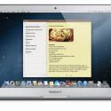 Die Notes (Notizen) werden per iCloud synchronisiert. (Bild: Apple)