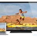 Dank AirPlay-Mirroring können HD-Inhalte vom Mac über Apple TV auf größere Bildschirme gestreamt werden. (Bild: Screenshot/Apple.com)
