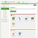 Die Nutzeroberfläche lässt sich durch eine webbasiertes Management-Programm individuell anpassen. (Bild: Doro)