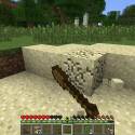 Nun gilt es, frisch gestärkt, das Haus etwas zu verbessern. Dazu benötigen wir Sand. (Bild: netzwelt)