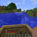 ... und fahren den Fluss vor dem Haus einmal herauf und wieder herunter. Doch immer merken, woher man kommt! (Bild: netzwelt)