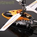 Unter Verwendung einer physikalischen Fernbedienung liegt der Hubschrauber stabil in der Luft. (Bild: netzwelt)