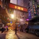 Sleeping Dogs entführt den Spieler in die Straßen und Gassen von Hongkong. (Bild: Square Enix)