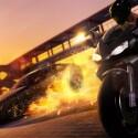 Die Rennen finden dabei neben Autos auch mit Motorrädern statt. (Bild: Square Enix)