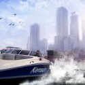 Die Rennen gehen auch auf dem Wasser weiter. (Bild: Square Enix)