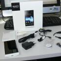 Das Sony Xperia S bietet im Lieferumfang unter anderem die Sony SmartTags. (Bild: netzwelt)