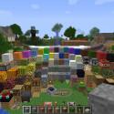 Eine praktische Übersicht über viele Minecraft-Klötzen findet sich in der Map. (Bild: netzwelt)