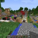 Die Gänge liegen gegenüber dem Berg mit der komprimierten Übersicht der Minecraft-Teile. (Bild: netzwelt)