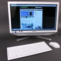 Der All-in-One-PC entpuppt sich mit Blu-ray-Laufwerk und TV-Tuner als potentielle Multimediazentrale. (Bild: netzwelt)