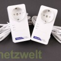 Wie bei den Herstellern üblich, legt auch Netgear seinem Set Ethernet-Kabel bei. (Bild: netzwelt)