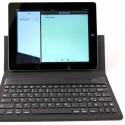 Mithilfe der Tastatur lassen sich Texte auf dem iPad um einiges schneller produzieren. (Bild: netzwelt)