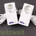 Achter Platz für das Gerätepaar Netgear AV+ 500 Nano. (Bild: netzwelt)