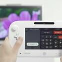 Das Wii U GamePad lässt sich dan Infrarot als Fernbedienung einsetzen. (Bild: Screenshot YouTube.com/Nintendo)