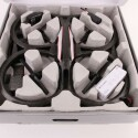 Abgesehen von der Drohne selbst befinden sich auch zwei Akkus und internationale Steckdosenadapter in dem Paket. (Bild: netzwelt)