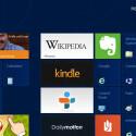 Bewegt der Nutzer den Mauszeiger an den rechten Rand des Bildschirms, tauchen die Charms genannten Einstellungen für das aktive Programm auf. (Bild: Screenshot Windows 8/netzwelt)