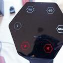 Das Touch-Panel auf der Oberseite der SBX-Lautsprecher. (Bild: Creative)
