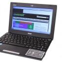 Asus liefert ein typisches Netbook mit 10,1 Zoll großem Bildschirm ab, in dem sich die aktuelle Prozessoren-Generation befindet. (Bild: netzwelt)