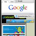 Beim iPhone gestaltet sich die Navigation ein wenig anders. (Bild: Screenshot Chrome-App)