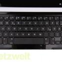 Die Tasten des Keyboards sind sehr groß und bringen Tippkomfort. (Bild: netzwelt)