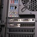 Jede Grafikkarte verfügt über drei DVI- und einen DisplayPort-Ausgang. (Bild: netzwelt)