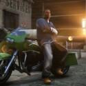 Franklin posiert vor seinem Diebesgut. (Bild: Rockstar Games)