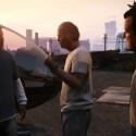 Die drei Hauptcharaktere planen einen gemeinsamen Coup. (Bild: Rockstar Games)