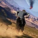 Das Umland von Los Santos lässt sich am besten mit einem geländegängigen Motorrad erkunden. (Bild: Rockstar Games)