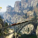 Ob Spieler auch mit der Bahn das Umland erkunden können ist noch ungewiss. (Bild: Rockstar Games)