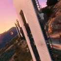 Der legendäre Hollywood-Schriftzug kommt auch in GTA V zu tragen, allerdings thront Vinewood auf dem Berg. (Bild: Rockstar Games)