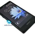 Auf dem russischen Blog Mobile-Review tauchten die Bilder des neuen Xperia-Modells auf. (Bild: mobile-review.com)