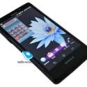 Bei dem gezeigten Smartphone handelt es sich noch um einen Prototyp, weshalb sich noch einiges an der Hardware und am Design des Geräts ändern kann. (Bild: mobile-review.com)