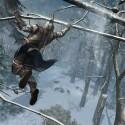 Akrobatische Klettereinlagen in den Bäumen. (Bild: Ubisoft)