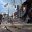 Connor bedient sich am Gewehrständer. (Bild: Ubisoft)