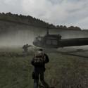 """Unterwegs auch per Hubschrauber. (Bild: Dean """"Rocket"""" Hall)"""