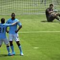 Balotelli von Manchester City in seiner populären Pose. (Bild: EA Sports)