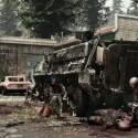 Selbst das Militär unterliegt den Zombie-Massen. (Bild: Hammerpoint Interactive)