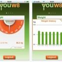 Bisher steht nur eine iOS-App für die Youw8 zur Verfügung. Das Online-Portal ist übersichtlich, besitzt aber keine Schnittstelle zu Drittanbietern oder Facebook. (Bild: netzwelt)