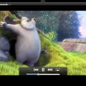 Abgespielte Videos erscheinen im iOS-typischen Look. (Bild: netzwelt)