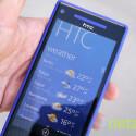 Mit einem Fingertipp auf die Uhr gelangt der Nutzer in den HTC Hub. Von dort kann er sich auch eine Wettervorhersage auf den Startbildschirm pinnen. (Bild: netzwelt)